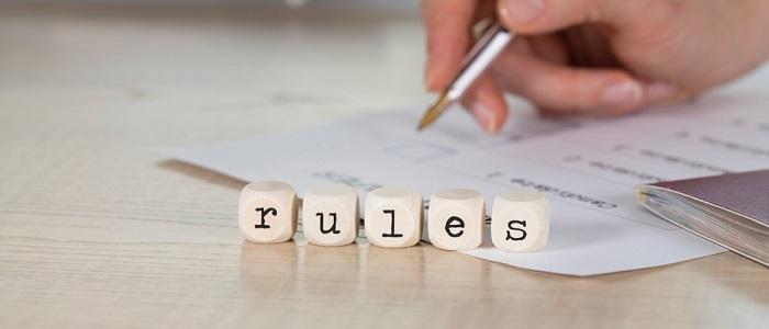 画像: 社内ルールについて