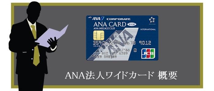 ANA法人ワイドカードの概要