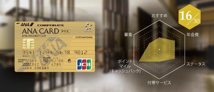 ANA法人ワイドゴールドカード
