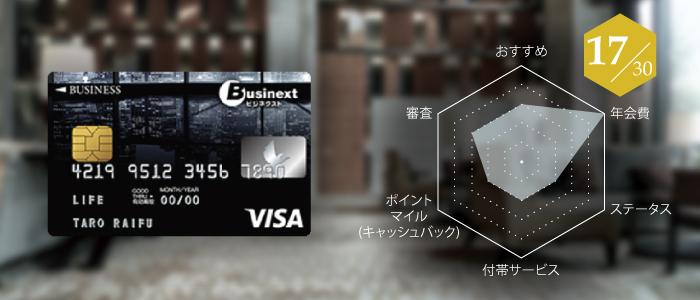 法人カードの評判:ビジネクスト