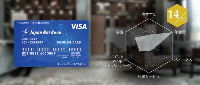 詳細:ジャパンネットVisaデビットカード