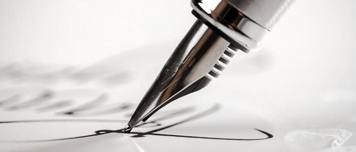 画像: 法人カードの署名(サイン)について